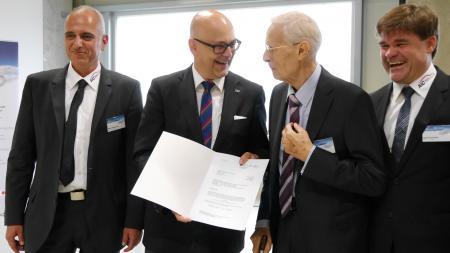 Förderbescheid für die Jürgen Liebisch GmbH