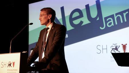 Ministerpräsident Günther spricht über die Digitalisierung als Chance.