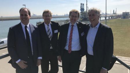 Gespräche in Rotterdam
