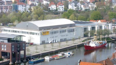 Luftaufnahme der Lübecker MuK