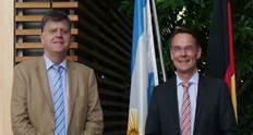 Am 1. Juni war der argentinische Botschafter Edgardo Matarola zu Gast bei Staatssekretär Ingbert Liebing. Energiepolitik war das bestimmende Thema des Treffens.