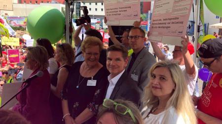 Minister Garg auf der Gesundheitsministerkonferenz in Leipzig