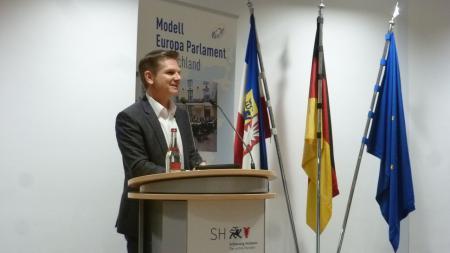 Minister Garg bei der Eröffnung des MEP