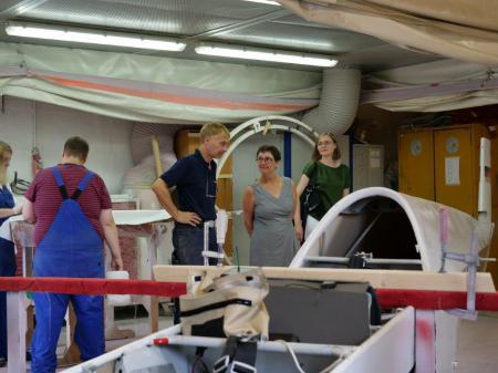 Besuch der Produktionsschule Herzogtum Lauenburg Nord in Ratzeburg