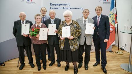 Auszeichnung für Ehrenamtler