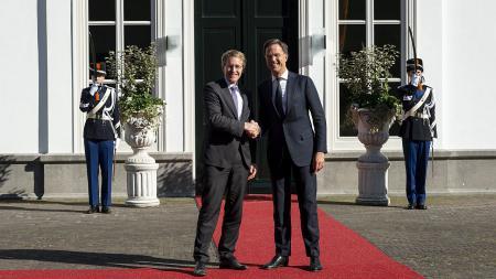Hochrangige Treffen in Den Haag