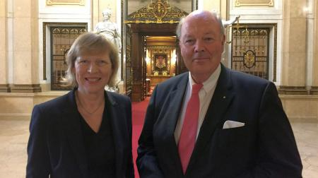 Dr. Dorothee Stapelfeldt und Hans-Joachim Grote