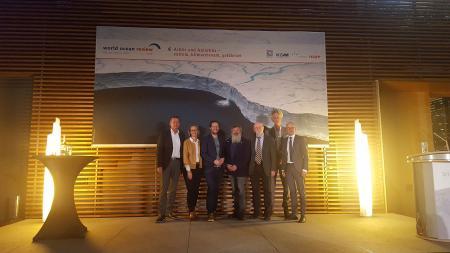 LV. v.l.n.r.: Volker Rachold, Nele Matz-Lück, Jan Philipp Albrecht, Ulrich Bathmann, Hans-Otto Pförtner, Nikolaus Gelpke, Karsten Schwanke