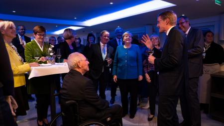 Abendessen mit Vertretern von Bund und Ländern