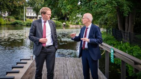 Gespräch mit Hamburgs erstem Bürgermeister